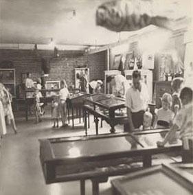 Basement Waddell School 1953