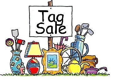 """""""Kid Stuff"""" Tag Sale – May 6 & 7"""